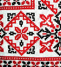 История народной вышивки крестом