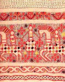 Вышивка крестом древняя